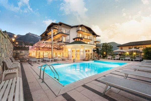 Sport & Wellness Hotel Cristallo a Levico Terme in Trentino