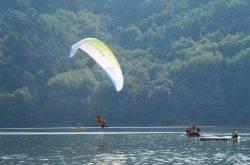 Godersi la vita al lago di Levico