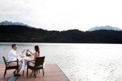 Il lago di Levico: l'estate si fa fresca!