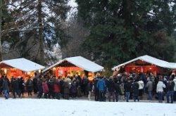 Besinnliche Weihnachtsstimmung in den Bergen