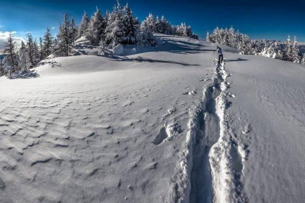 Schneeschuhwandern Levico Terme