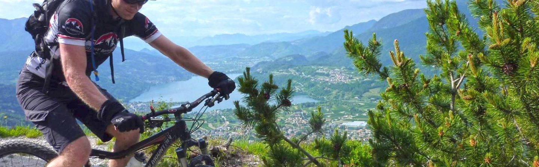 Urlaub mit dem Mountainbike: Rund um Levico Terme im Trentino gibt es zahllose Touren und Trails zu entdecken.