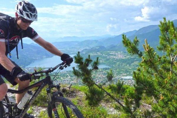 Mit dem Mountainbike das Trentino entdecken