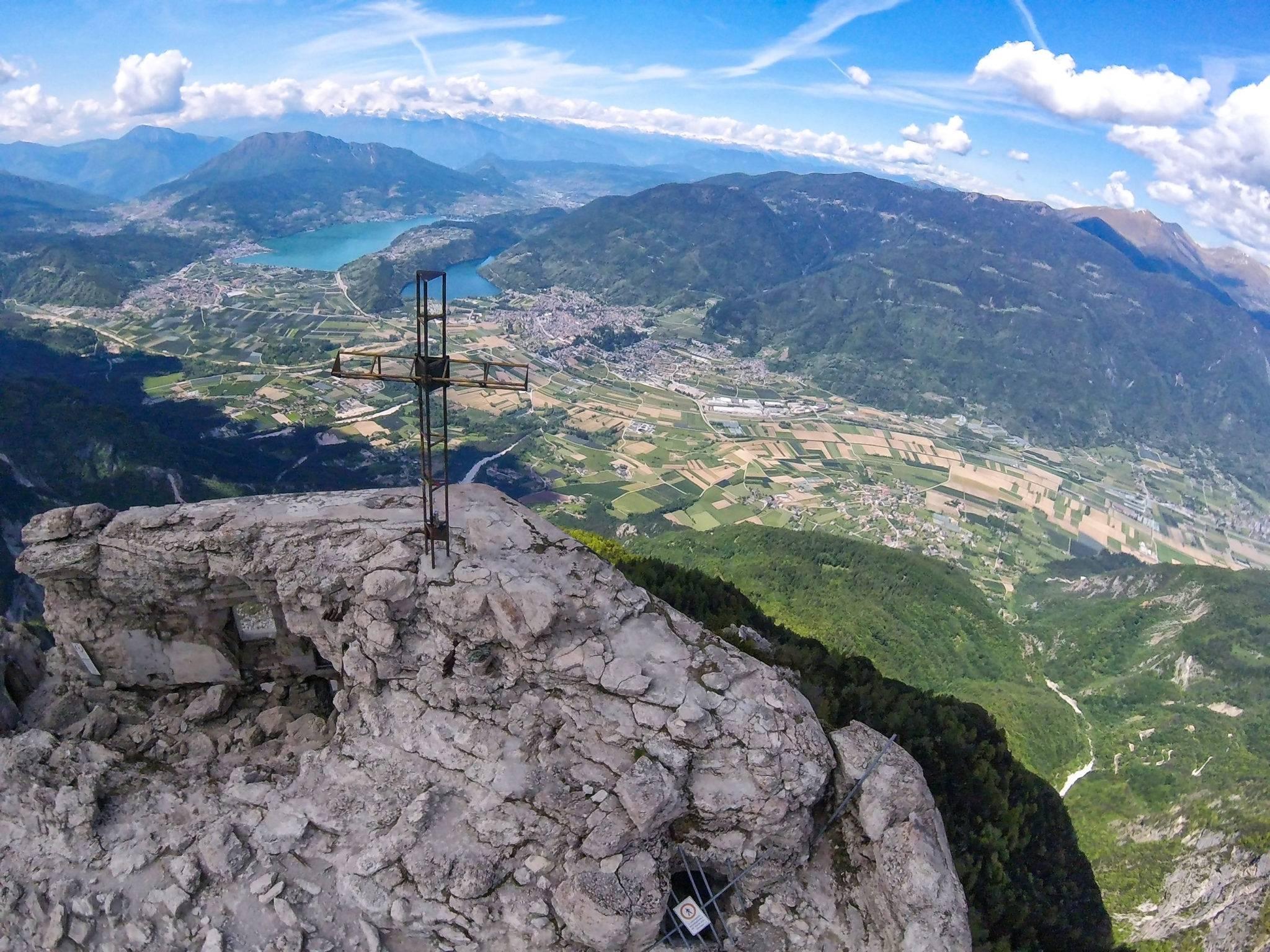 Cima Pizzo vista sulla Valsugana