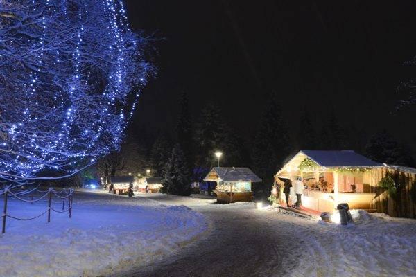 Mercatini di Natale in Trentino a Levico Terme